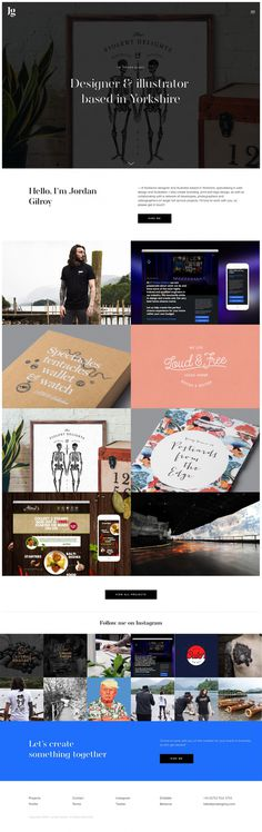 www.jordangilroy.com Jordan Gilroy portfolio webdesign besti minimal award inspiration inspire mindsparkle mag mindsparklemag www.mindsparkl