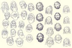 beards.jpg (700×466) #illustration #beard #sketch