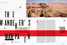 Matt Chase: Escapades Magazine / on Design Work Life #layout #editorial #magazine