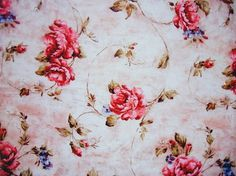 FFFFOUND! | don't let go. #pink #rose #pattern #floral