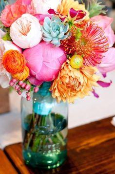 e s t h e r #flower #spring #colour #arrangement