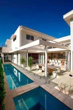 CJWHO ™ (Manly Beach House, Sydney, Australia by Sanctum...) #house #sydney #design #interiors #pool #photography #architecture #australia #beach #luxury