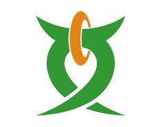 Kanji municipal symbol, Japan #logo
