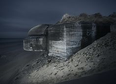 Abandoned WW2 fortifications. on Photography Served #ww2 #photography #bunkers