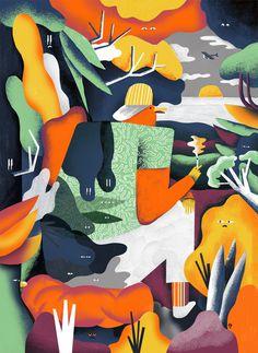 KarolBanach-dinujo-oldskull-01 #illustration
