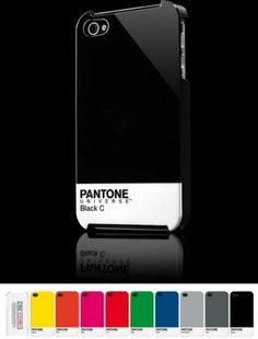 Pantone on products - Jared Erickson | Jared Erickson #iphone #case #pantone
