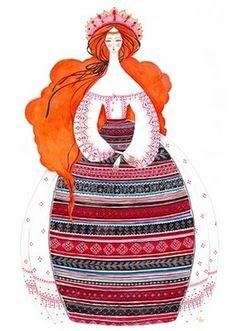 MADALINA ANDRONIC: RANDOM #illustration #folk #pattern #character design #romania #rozalba