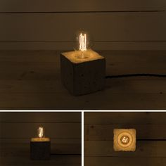 Concrete Lamps #light