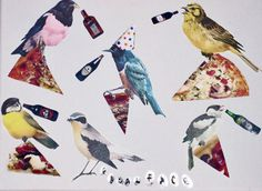 Free Fridayz: Pizza Party #birds #booze #pizza