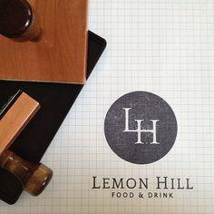 LemonHillPhilly.com #logo #branding #icon #stamp