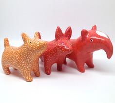 Animal sculptures by Jonas Welin