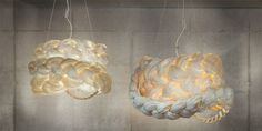 The Bride – collection of lamps made of paper