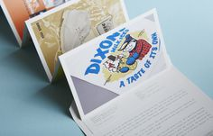 Peter O'Toole illustrator mailer by A.N.D. Studio
