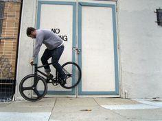 FFFFOUND! | Drop Anchors #fixie #bicycle #fixed #gear #trick #bike