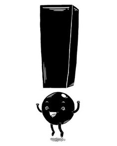 FFFFOUND! | Yeah! | Flickr - Photo Sharing! #exclamation #sign #black