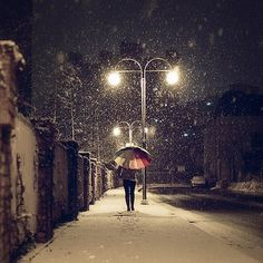 FFFFOUND! | 70941480 #umbrella #snow
