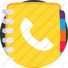 See more icon inspiration related to phonebook, address books, phone book, address book, addresses, address, communications, spring, networking, business, tool, phone, contacts and book on Flaticon.
