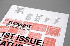 Thought Publication : Tim Wan : Graphic Design #design #graphic #poster