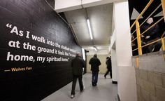 Creative Review Wolves FC fans contribute to new look stadium #wolves