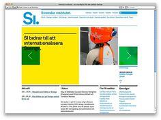 Identity | Stockholm Design Lab #stockholmdesignlab #grid #design #web