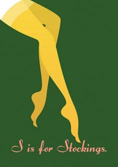 S is for Stockings | Flickr - Photo Sharing! #woman #sensual #legs #curves #illustration