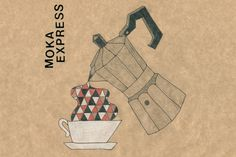 Moka express #moka #illustration #coffee #drawing #italy
