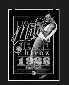 The Golden Age of Jazz on Behance #miles #jazz #davis #tipography #wine #poster