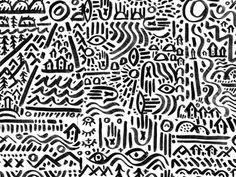 Hands, Lines, Trees & Stuffs
