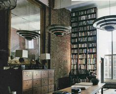 cherrysocks:Loft lust #lamp #room