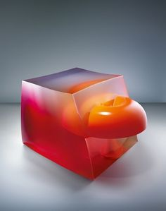 Jelly & Light on the Behance Network #sculpture #light #jelly #colour