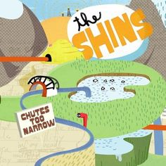 Google Image Result for http://images.wikia.com/lyricwiki/images/e/e2/The_Shins_-_Chutes_Too_Narrow.jpg #album #cover #illustration