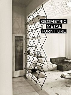 Finding the Right Angle: Using Geometric Furniture in Your Home on the Interior Collective #wood