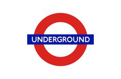London Underground Brand Logo Designed (1915) by Edward Johnston #logo #design