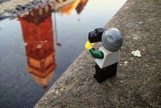 The Legographer 3 #miniature #photography #lego #photographer