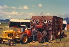 All sizes | Field burner and crew | Flickr - Photo Sharing! #photo #americana #palette
