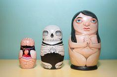 All sizes | Anatomical Nesting Dolls | Flickr - Photo Sharing!