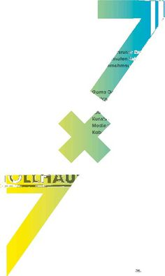 7x7 — VERONIKA SALZSEILER (B.A.) #poster #gradient #germany #german #underline #veronika salzseiler