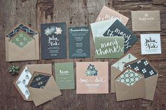 Foodie Wedding Invitations by Yours is the Earth | Green Wedding Shoes Wedding Blog | Wedding Trends for Stylish + Creative Brides #invitation