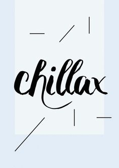 Chillax Art Print by Koning | Society6