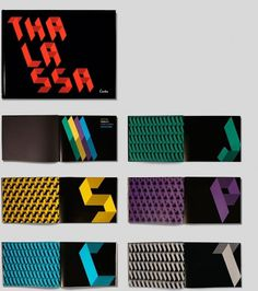 Thalassa #design #graphic #typography
