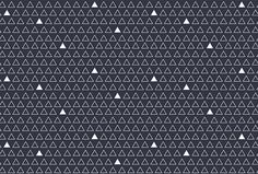 Commonplace by Rowan Made #pattern #triangle
