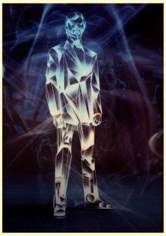 KILIAN ENG / DW DESIGN #robot #retro #geometric #glow #kilian #eng