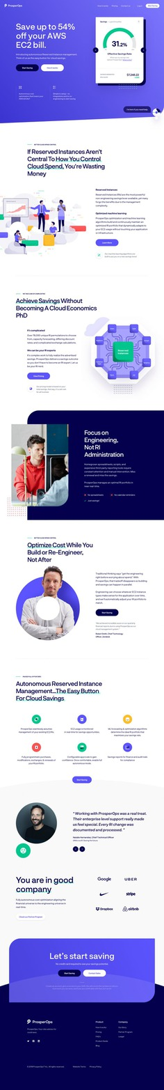 ProsperOps – Homepage Exploration #2