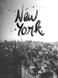 New York #design #graphic #typography