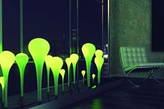 The solar powered Coral Lamp will light up your space in a unique and eco friendly way.