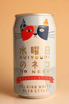 水曜日のネコ ヤッホー・ブルーイング 350ml缶ベルジャン・ホワイト・ビール・スタイル 【ワイン