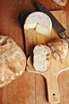 pane con farina macinata a pietra #food