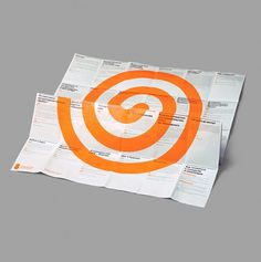 J8 Poster on the Behance Network #tomatdesign #print #design #spiral #booklet