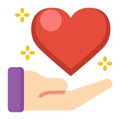 See more icon inspiration related to give, heart, love and romance, valentines day, love, hand and shapes on Flaticon.