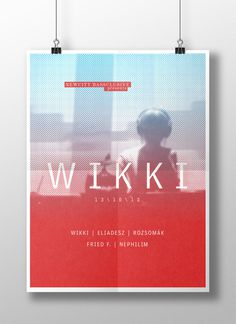 NCB / Wikki on Behance #print #design #graphic #wikki #ncb #poster